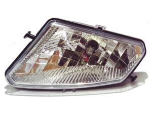 2005-2013 Polaris Hawkeye 300, Sportman 300 450 500 700 800, Trail Boss 330 OEM Left Head Light Assembly Lens, Housing & Bulb 2410735