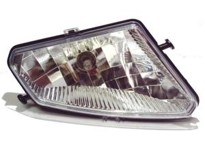 2005-2013 Polaris Hawkeye 300, Sportman 300 450 500 700 800, Trail Boss 330 OEM Right Head Light Assembly Lens Housing & Bulb 2410736