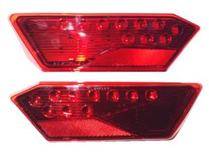 2014-2020 Polaris RZR 4, RZR 4 XP, RZR, RZR S, RZR XP OEM Right & Left Tail Light Housings