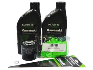 2009-2020 Kawasaki Mule 4000 4010 & Trans OEM Oil Change Kit 99969-3839