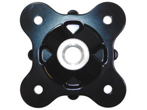 2013-2020 Polaris Brutus Ranger OEM Mach Black Rear Wheel Hub 5142964-067