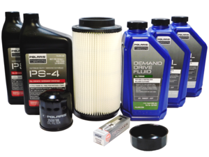 1996-2000 Polaris Scrambler 500 OEM XTRM Full Service Kit & Filter Wrench POL160