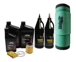 2013-2018 Can-Am Maverick 1000 R OEM Full Service Kit w Twin Air Foam Filter C48