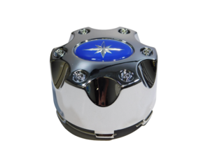 2016 Polaris General 1000 OEM Luster Chrome Wheel Hub Center Cap 1521509-410