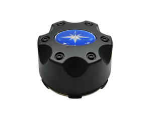 2015-2017 Polaris RZR 900, RZR XP 4 Turbo OEM Black Hub Cap 1521509-521