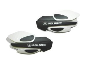 2013-2021 Polaris Scrambler XP 1000 850, Sportsman 450 570 850, X2 550, XP 850 OEM White Left & Right Hand Brush Guard 2876883