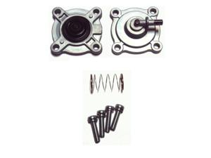 2003-2009 Honda CB600F, Shadow Aero 750, VTX1300 C R S T OEM Fuel Petcock Diaphragm Cover Set 16953-KEA-023