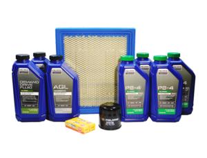 2011-2012 Polaris RZR 4 XP 900, RZR XP 900 OEM Complete Oil Change Service Kit