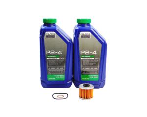 2015-2016 Polaris Ranger ETX OEM PS-4 Full Synthetic Oil Change Kit